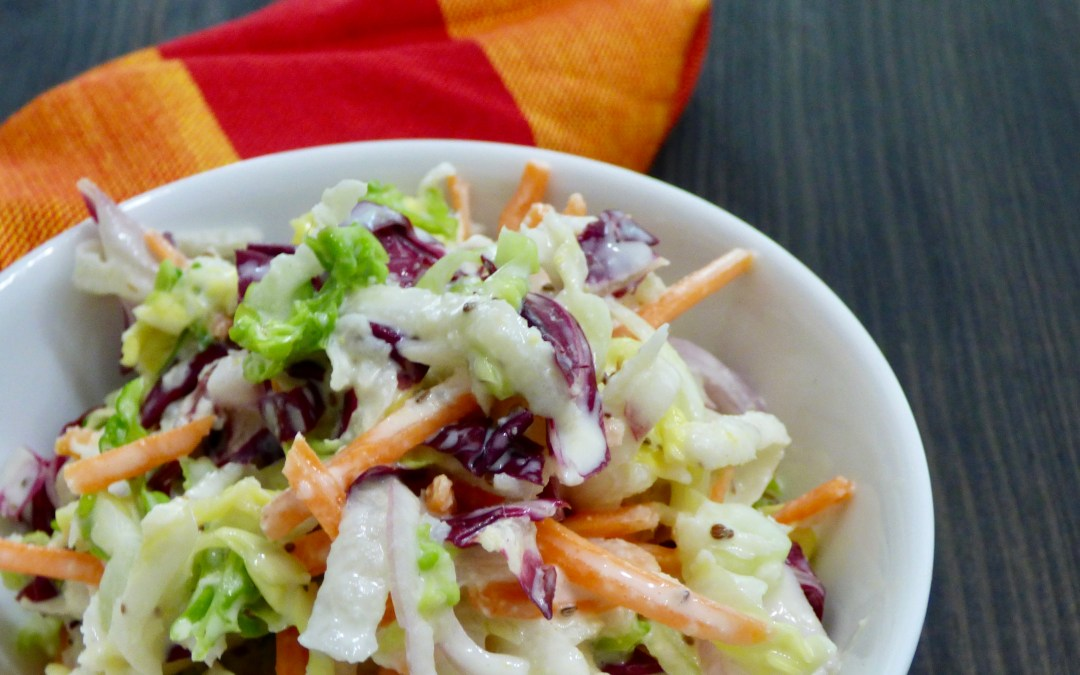 Kohlrabi Coleslaw (low carb)