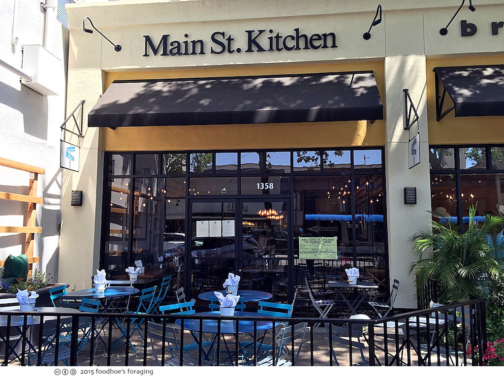 Lunching At Main St. Kitchen In Walnut Creek