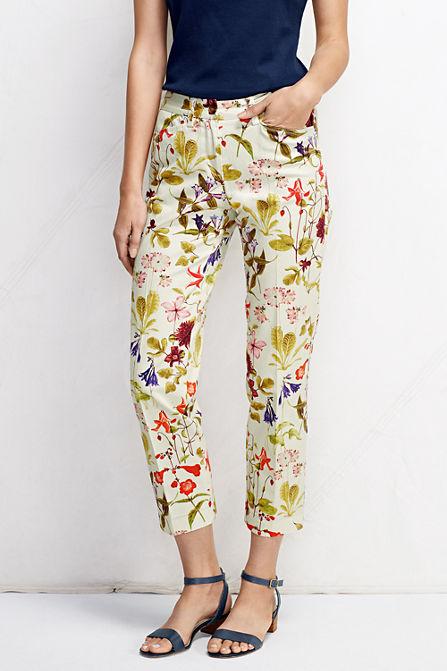 Lands End - Floral Pants