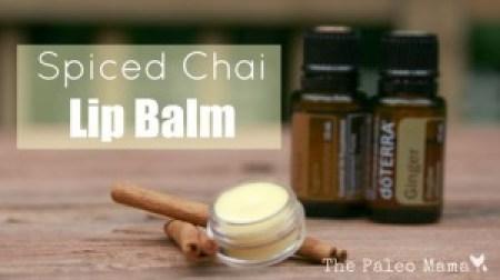 Spiced Chai Lip Balm - The Paleo Mama