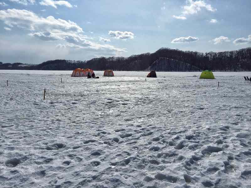 Foodicles Lake Abashiri Ice Fishing 1