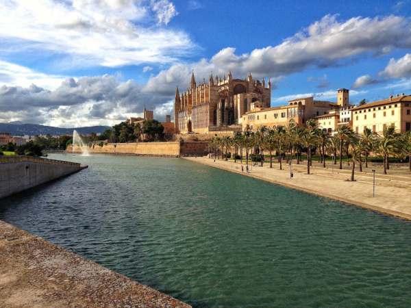 Catedral en Mallorca