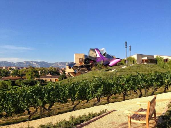 Marques de Riscal in La Rioja