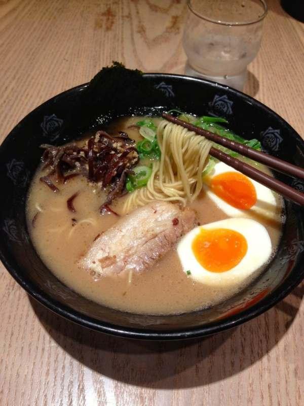 Foodicles Tokyo Station Ramen Street Oreshiki Jun Tonkotsu