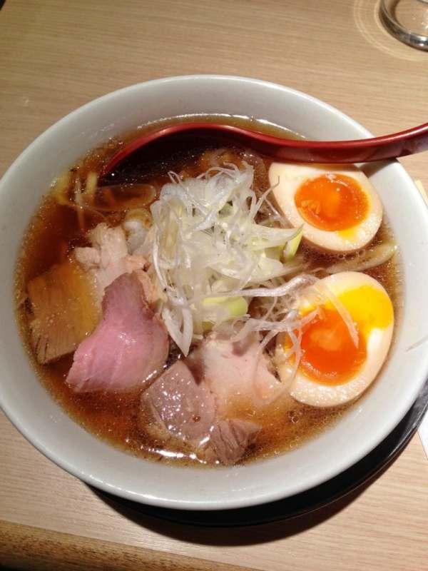 Foodicles Tokyo Station Ramen Street Menya Shichisai