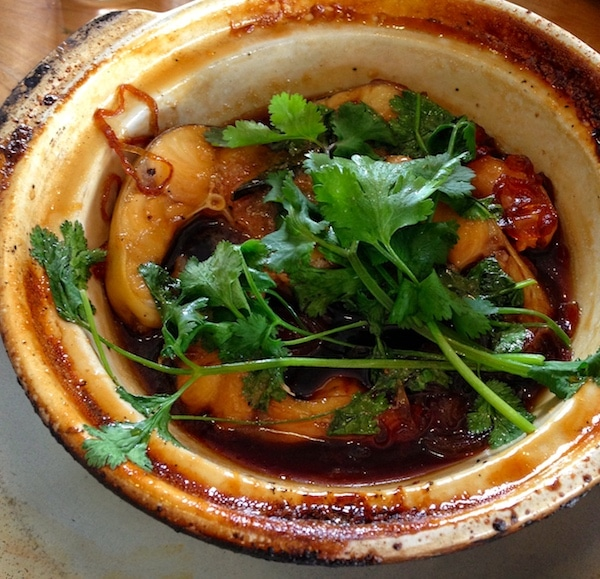 Slanted Door Caramelized Catfish Claypot