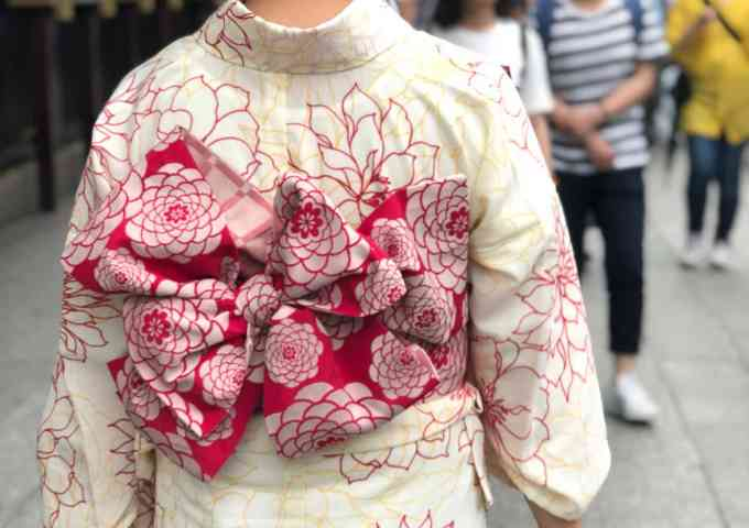 Kimono in Experience