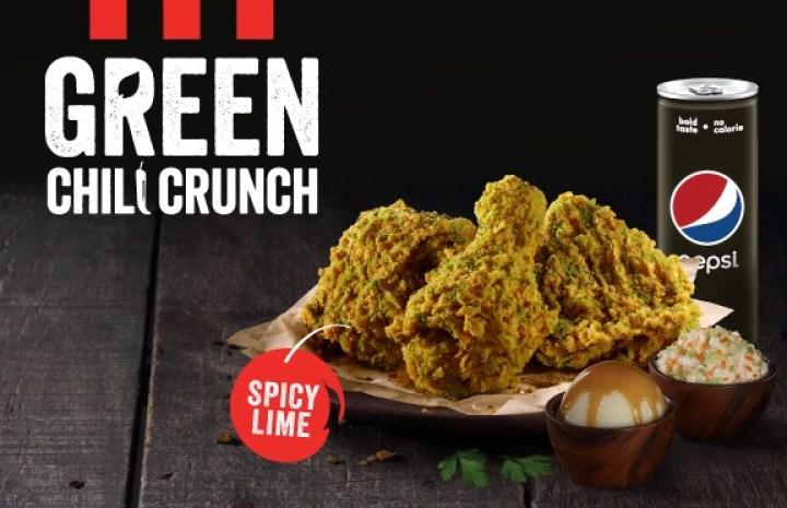 Green Chili Crunch 3-pc Combo from KFC