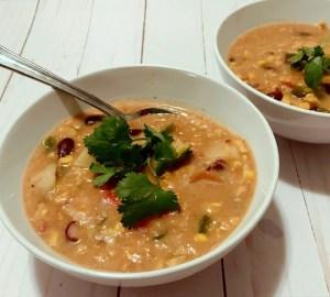 easy mexican corn chowder
