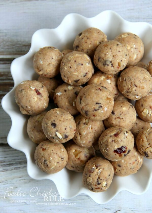 Gluten Free Healthy Breakfast Balls (and snacks) - Grab ...