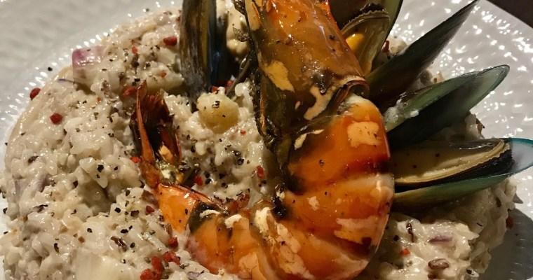 【慢煮工房】鮮味大蝦意大利飯