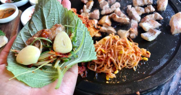 【鬈毛妹在濟州】黑豚肉餐廳推介
