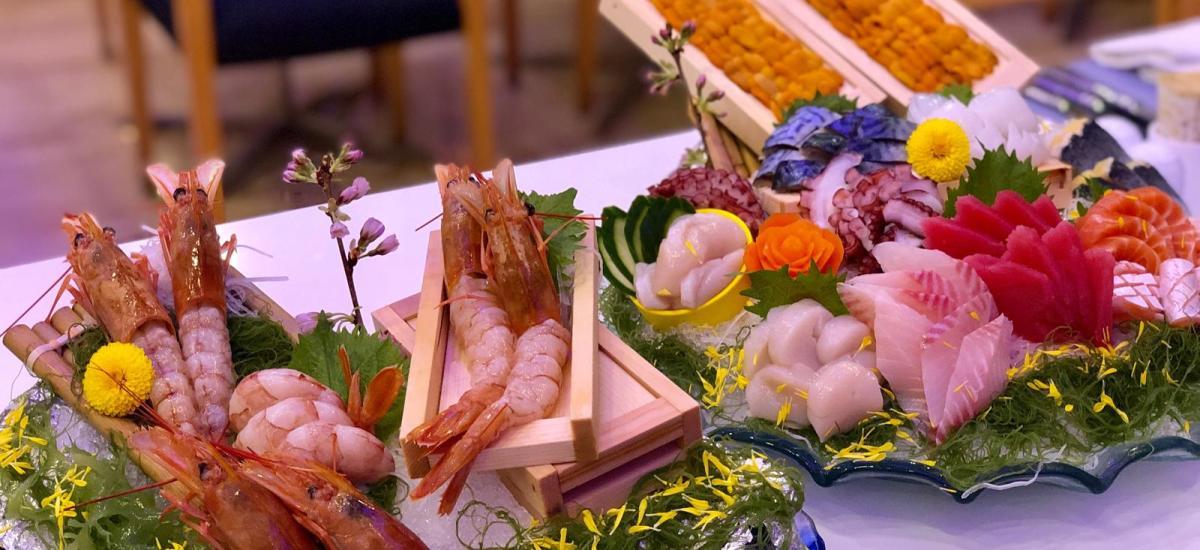 【Harbour Grand Café】琳琅滿目海鮮自助餐