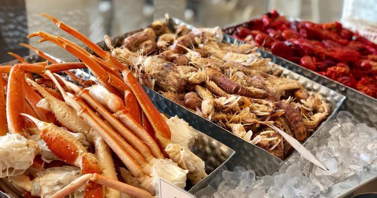 【Promenade西餐廳】好多海鮮好多榴槤。$290自助午餐真心抵