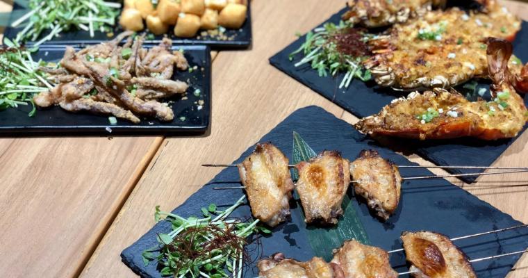 【小魚兒】鳳梨烤魚夠特別.多款燒烤更出色