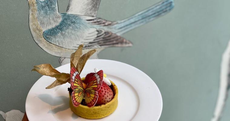 【Gradini】聯乘刺繡品牌  推「夢幻莊園下午茶」