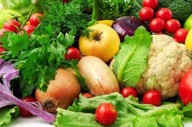 Stock of Vegetarian foods