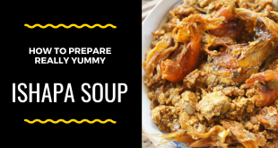 How to Prepare Ishapa Soup: The Typical Nigerian South Western Roselle Soup