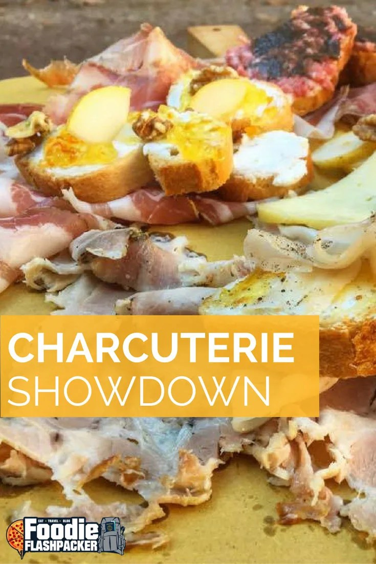 """I found this restaurant with a charcuterie plate that will change your life,"" I told my friend. ""I know one that's better,"" he replied. And so it was on. Click the photo to read all about it!"