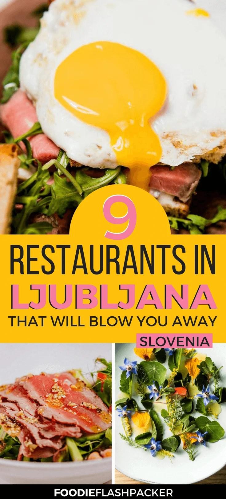 Where to Eat in Ljubljana, Slovenia - The Best Ljubljana Restaurants