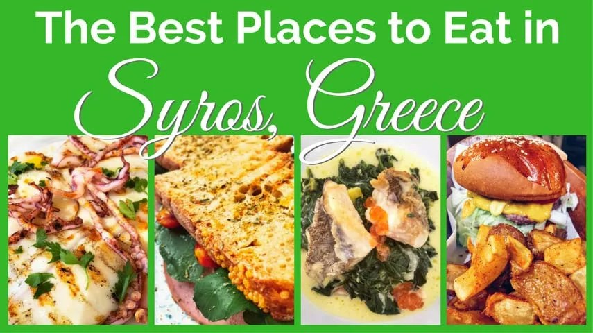 Where to Eat in Syros, Greece
