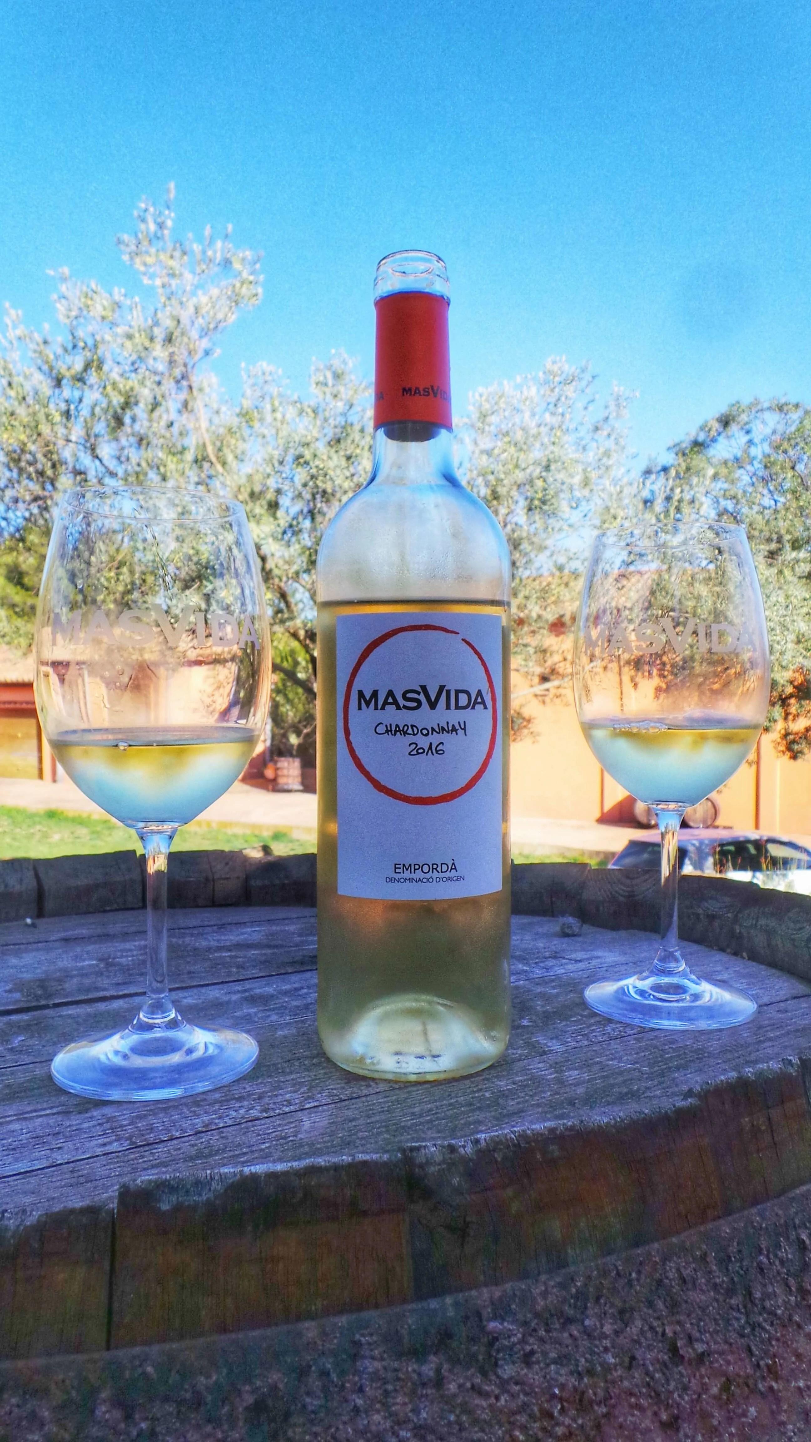 mas vida winery Cistella Costa Brava Spain