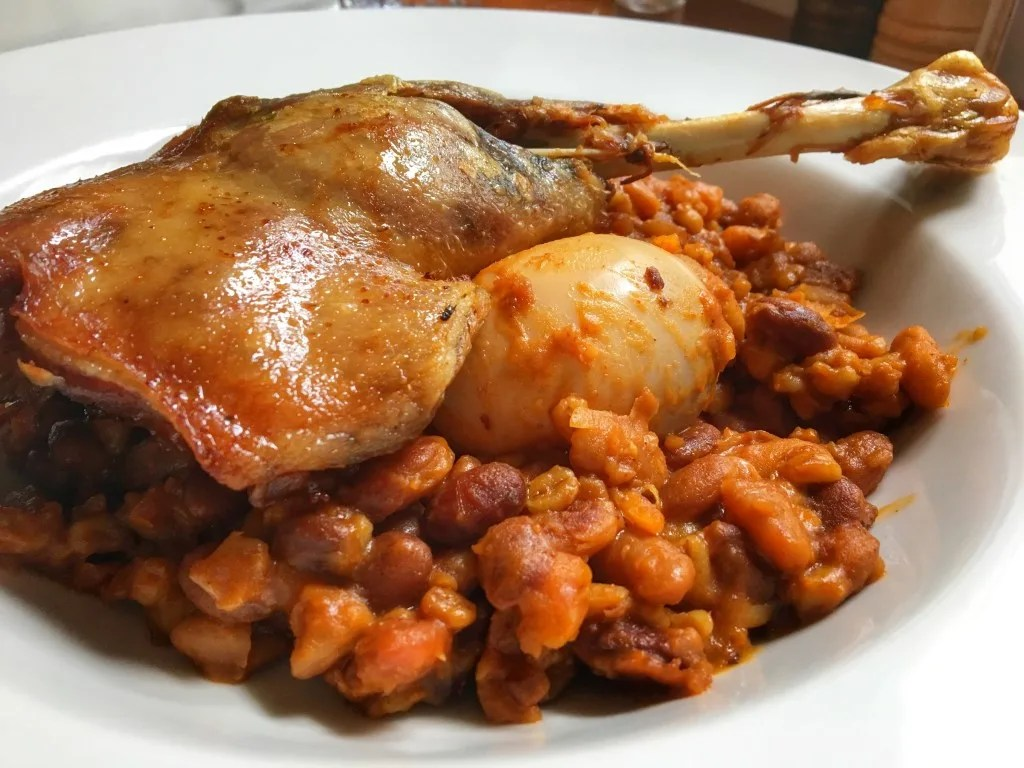Cholent - Traditional Hungarian Food
