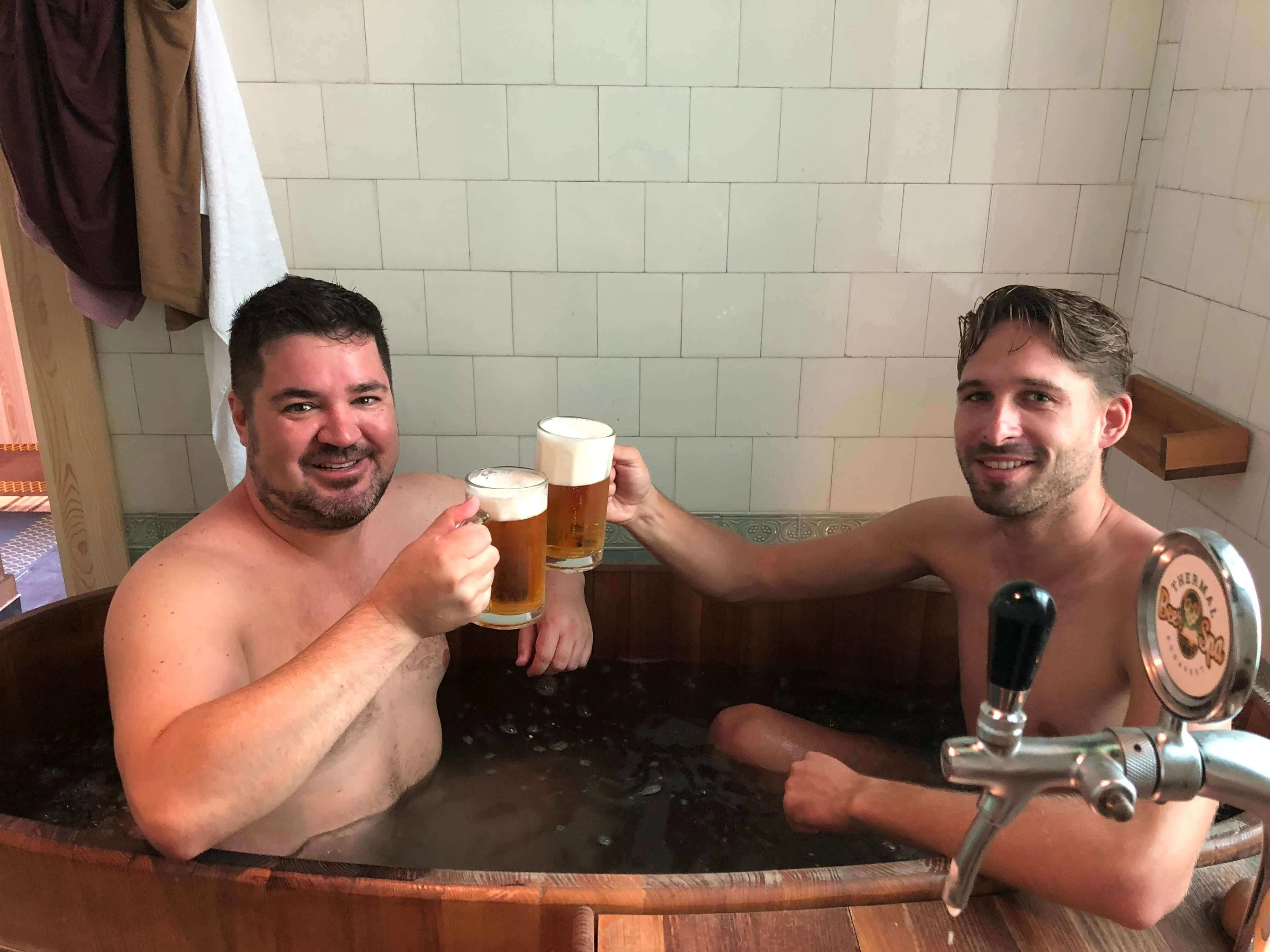 Budapest thermal beer spa best things to do in Budapest