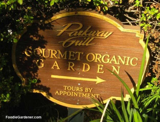 sign restaurant chef gourmet organic garden