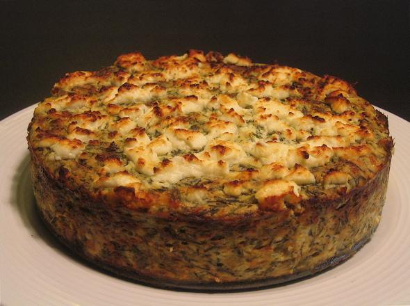 Agretti-Cheesecake from modernbeet.com