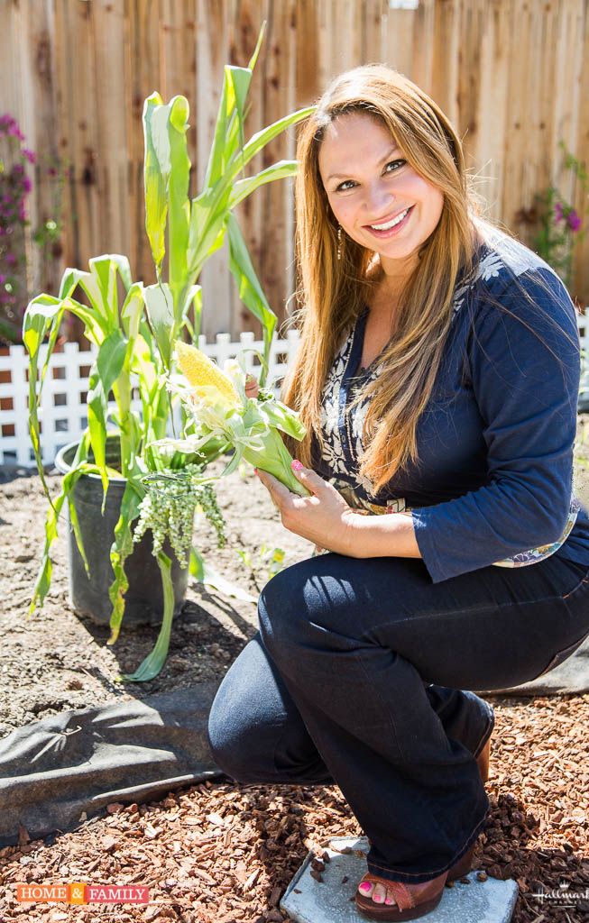 shirley-bovshow-foodie-gardener-on-home-and-family-show-teaches-how-to-grow-corn-in-backyard-hallmark-channel