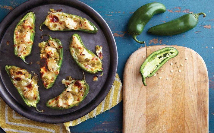 Crab chile poppers with jalapenos melissas recipe on foodie gardener