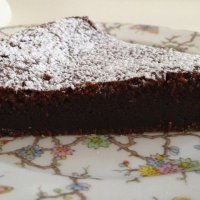 Flourless Nutella Chocolate Cake and Passover Memories
