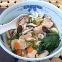 Kid-Friendly Udon Noodle Soup