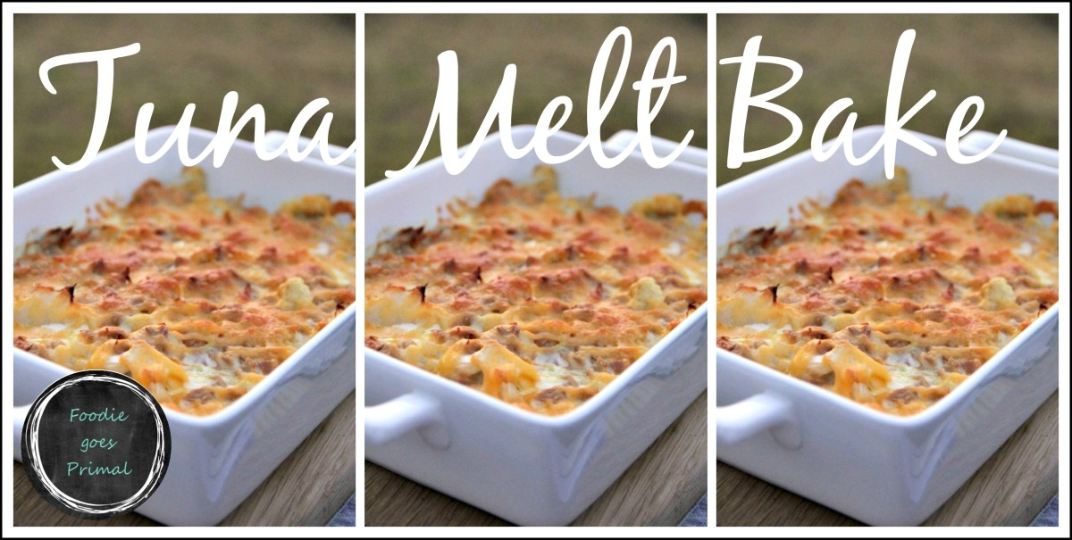 Tuna Melt Bake