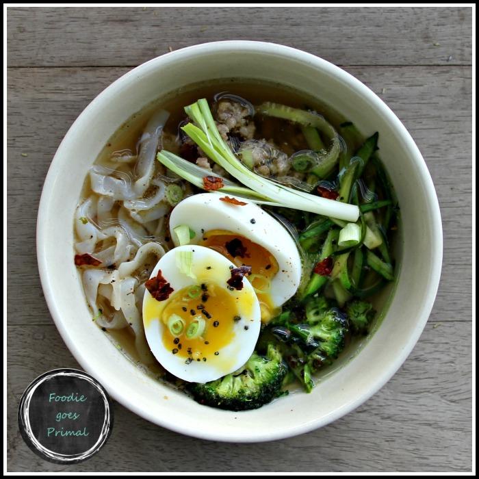 Asian Pork & Zoodle Bowls