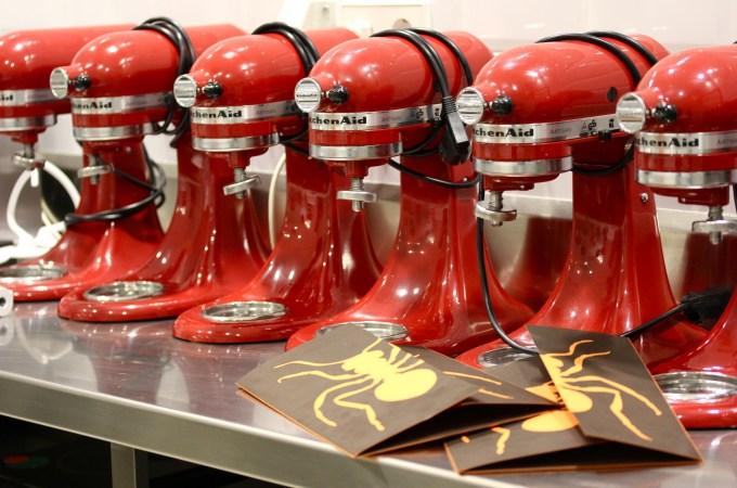 Baking School in Barcelona - Kitchen Aids at Espai Sucre