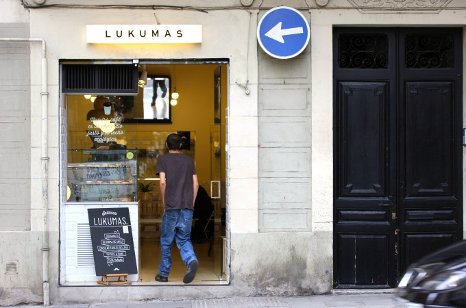 Doughnuts Gracia Lukumas entrance