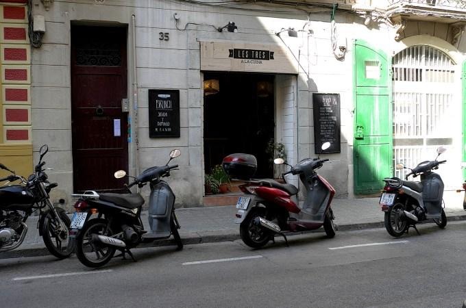 Les Tres La Cuina, Gracia