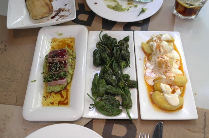 Our lunch at Bar Lobo