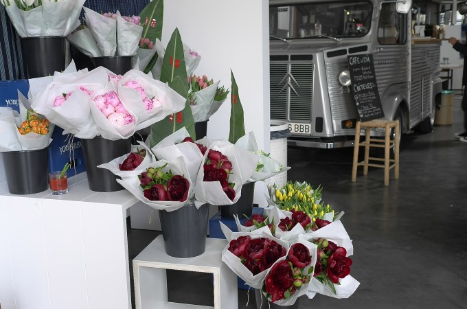 Pop up flower shop Barcelona