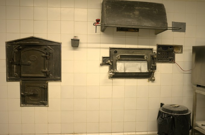 The 100 year old oven