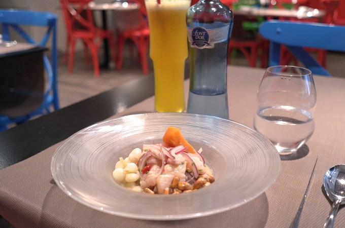 The ceviche at Ceviche 103