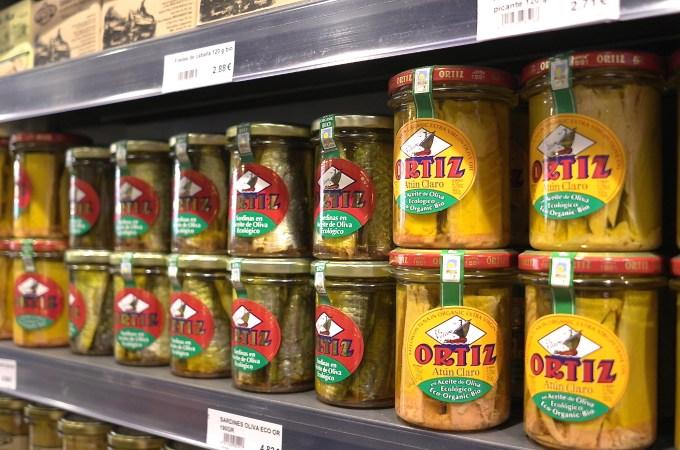Oritz fish at Feel Organic Grocery
