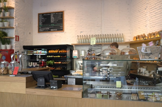 The cafe at Feeld Organic