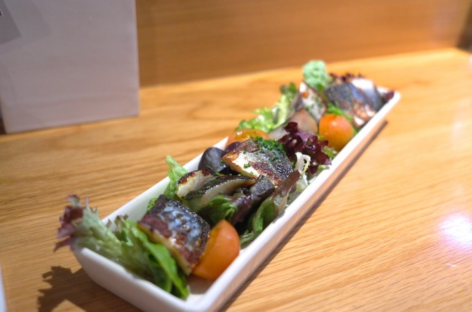 The mackerel at Can Kenji