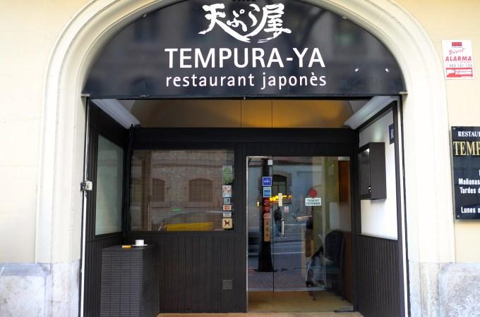 Shop front, Tempura - Ya