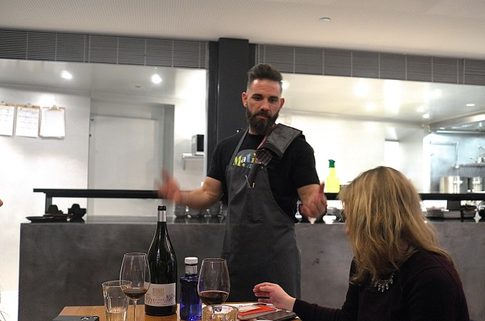 The chef at Bar Matis