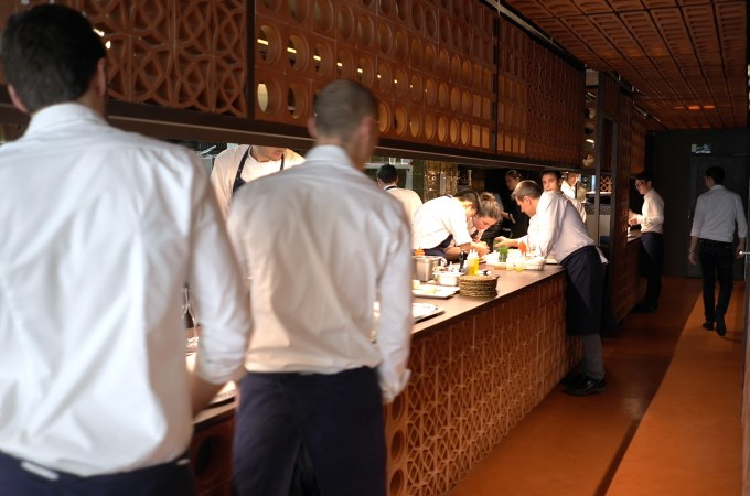 The kitchen at Disfrutar