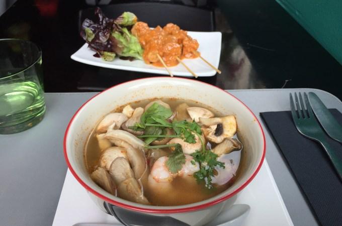 Tom yum soup Thai Food Barcelona